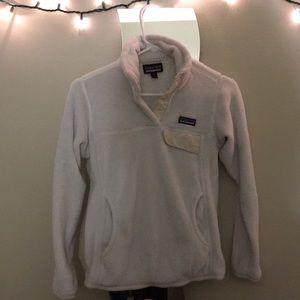 Patagonia jacket - white/ cream